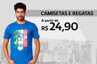 Camisetas e Regatas