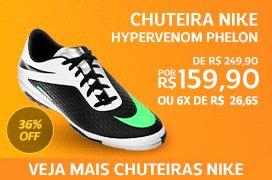 Chuteira Nike Hypervenom Phelon