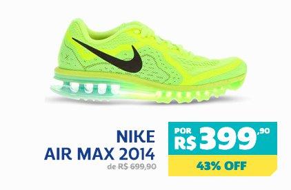Nike Air Max 2014 - De 699,90 Por 399,90 - 43% OFF