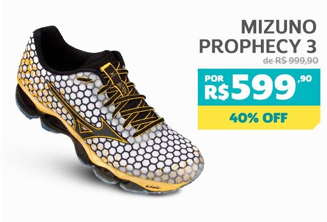 Mizuno Prophecy 3 - De 999,90 Por 599,90 - 40% OFF