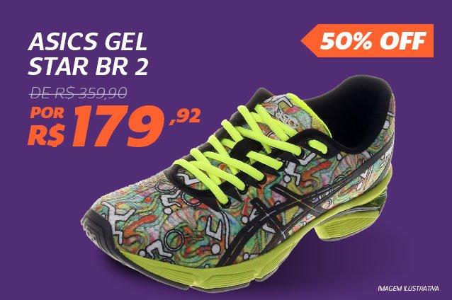Asics Gel Star BR 2 - De 359,90 Por 179,92 - 50%