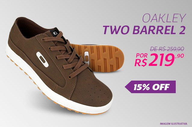 Oakley Two Barrel 2 - De 259,90 Por 219,90 - 15%