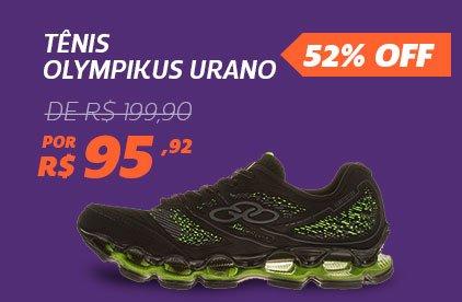Tênis Olympikus Urano - De 199,90 Por 95,92 - 52% Off