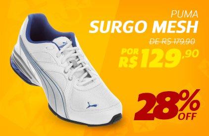 Puma Surgo Mesh - De 179,90 Por 129,90 - 28% OFF