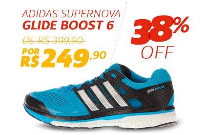 Adidas Supernova Glide Boost 6 - De 399,90 Por 249,90 - 38% OFF