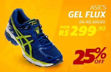 Ascis Gel Flux - De 399,90 Por 299,90 - 25% OFF