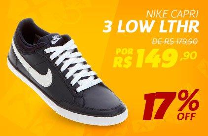 Nike Capri 3 Low LTHR - De 179,90 Por 149,90 - 17% OFF
