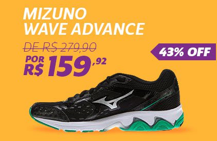 Mizuno Advance - De 279,90 Por 159,92 - 43% OFF