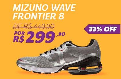 Tênis Mizuno Wave Frontier 8 - De 449,90 Por 299,90 - 33%OFF