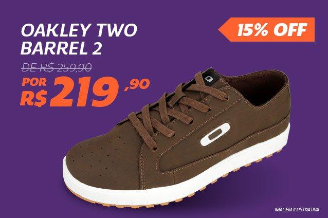Oakley Two Barrel 2 - De 259,90 Por 219,90 - 15%
