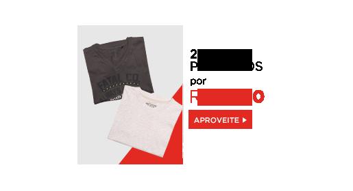 2 produtos para eles por R$ 49,00. Clique aqui!