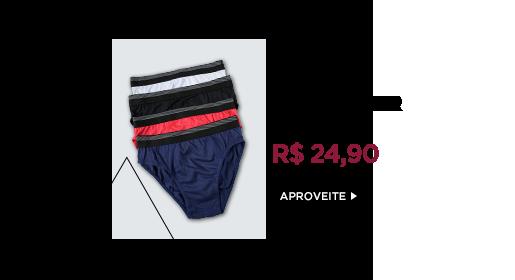 Kits de Underwear a partir de R$ 24,90. Clique aqui!