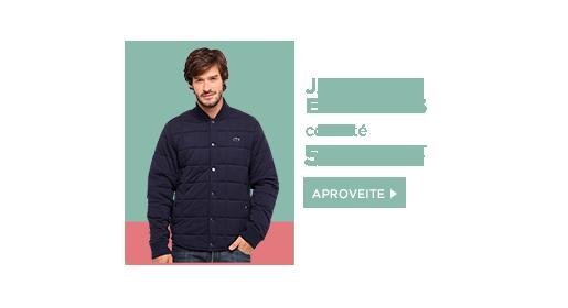 Jaquetas e casacos com até 50% off. Clique aqui!